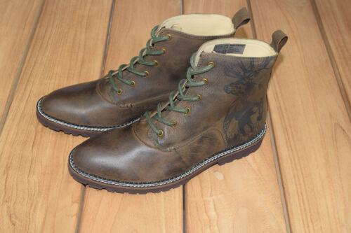 Spieth Wensky Lennie Trachten Boots Stiefel Herren braun Trachtenschuhe