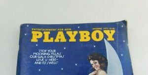 Playboy magazine December 1973 Christine Maddox Barbi Benton