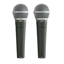 Pyle PDMIC58 Professional Moving Coil Dynamic Handheld Microphone 15' Cable