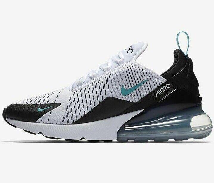 ⚫ Genuine Nike Air Max 270  ®  ( Men Größe UK 8.5 & 12  )  Weiß   Dusty Cactus