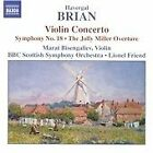Havergal Brian - : Violin Concerto; Symphony No. 8; The Jolly Miller Overture (2005)