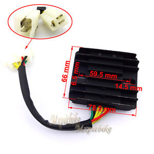 s l300 12v 6 wires dc voltage regulator rectifier for gy6 150cc 200cc 250cc