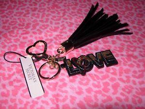 Damen-accessoires Beliebte Marke Victoria's Secret Glam Rock Runway Patch Troddel Schlüsselanhänger Glitter Herz Rheuma Und ErkäLtung Lindern Kleidung & Accessoires
