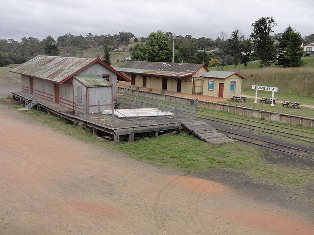 HO scale Bombala train station and out buildings  KITS