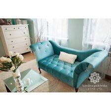 2 - Sitzer Antik Sofa Amelie Barocksofa Antik Couch Retro Salon Sofa