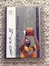 1999-00 SP AUTHENTIC SIGN OF TIMES SOTT KOBE BRYANT #8 AUTOGRAPH AUTO EXQUISITE