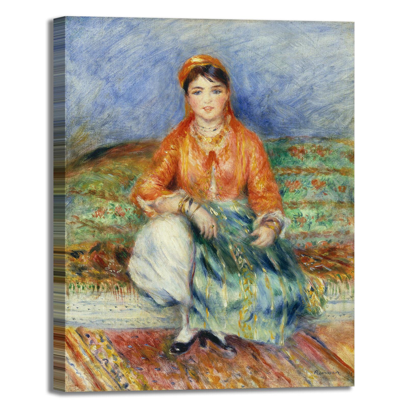Renoir ragazza algerina design quadro telaio stampa tela dipinto telaio quadro arRouge o casa 69eb15