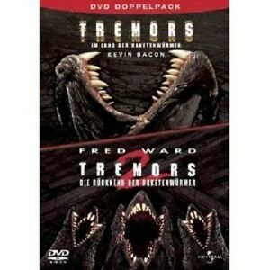 Tremors-1-amp-2-2-DVD-NUOVO-Kevin-Bacon-Fred-Ward-Finn-Carter