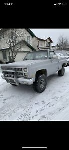 1981 Chevrolet Cheyenne 4x4 shortbox