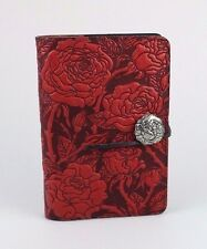 Oberon Design Wild Rose Small Leather Journal JSMA15 Made in USA New