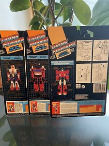 Transformers G1 Action Masters Cardback Lot Rare Inferno Sideswipe Kick Off