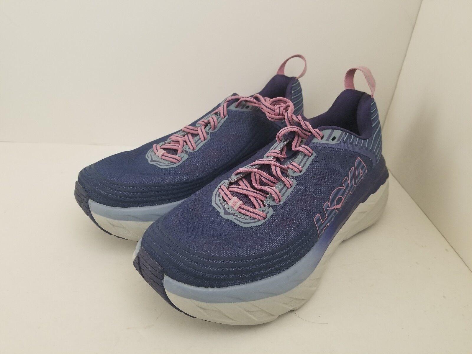 HOKA Bondi 6 pour Femme Taille 10.5 Max Amorti Premium Chaussures De Course Retail  150