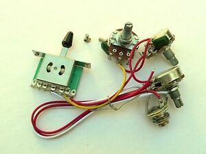 24mm 5 way wiring harness kit for fender stratocaster guitar singleimage is loading 24mm 5 way wiring harness kit for fender