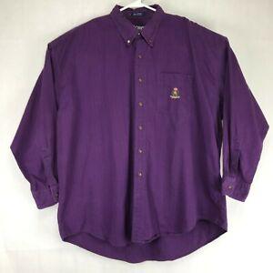 Ralph-Lauren-Chaps-Men-s-Purple-Long-Sleeve-Casual-Shirt-2XL