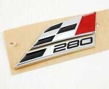 Seat 280 Logo Schriftzug Emblem Zeichen badge Heck Ibiza Leon Cupra