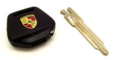 Genuine Porsche 911 964 993 Crested Key Head & Blank Key New