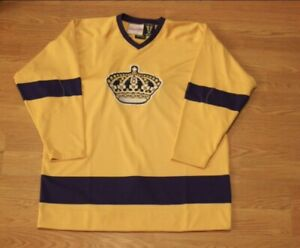 buy popular 47431 c989a Details about LA Kings Mitchell & Ness Authentic Jersey: Size 56