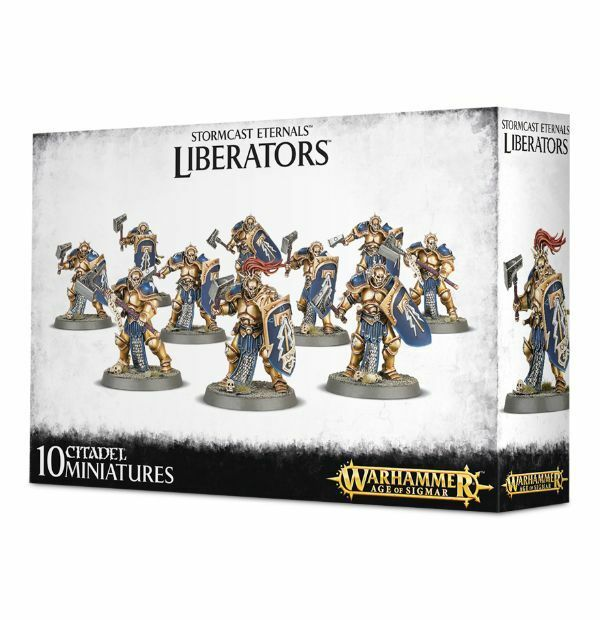 Age of Sigmar - Liberators - Stormcast Eternals - BNIB - Free Shipping (SCE-10)
