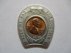 1957-Lucky-Salesman-The-Magazine-Reader-Service-Good-Luck-Penny-encased-cent