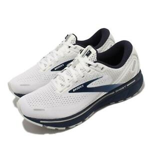 Brooks Ghost 14 Grey Blue Black Men Running Sports Shoes Sneakers 1103691D-190