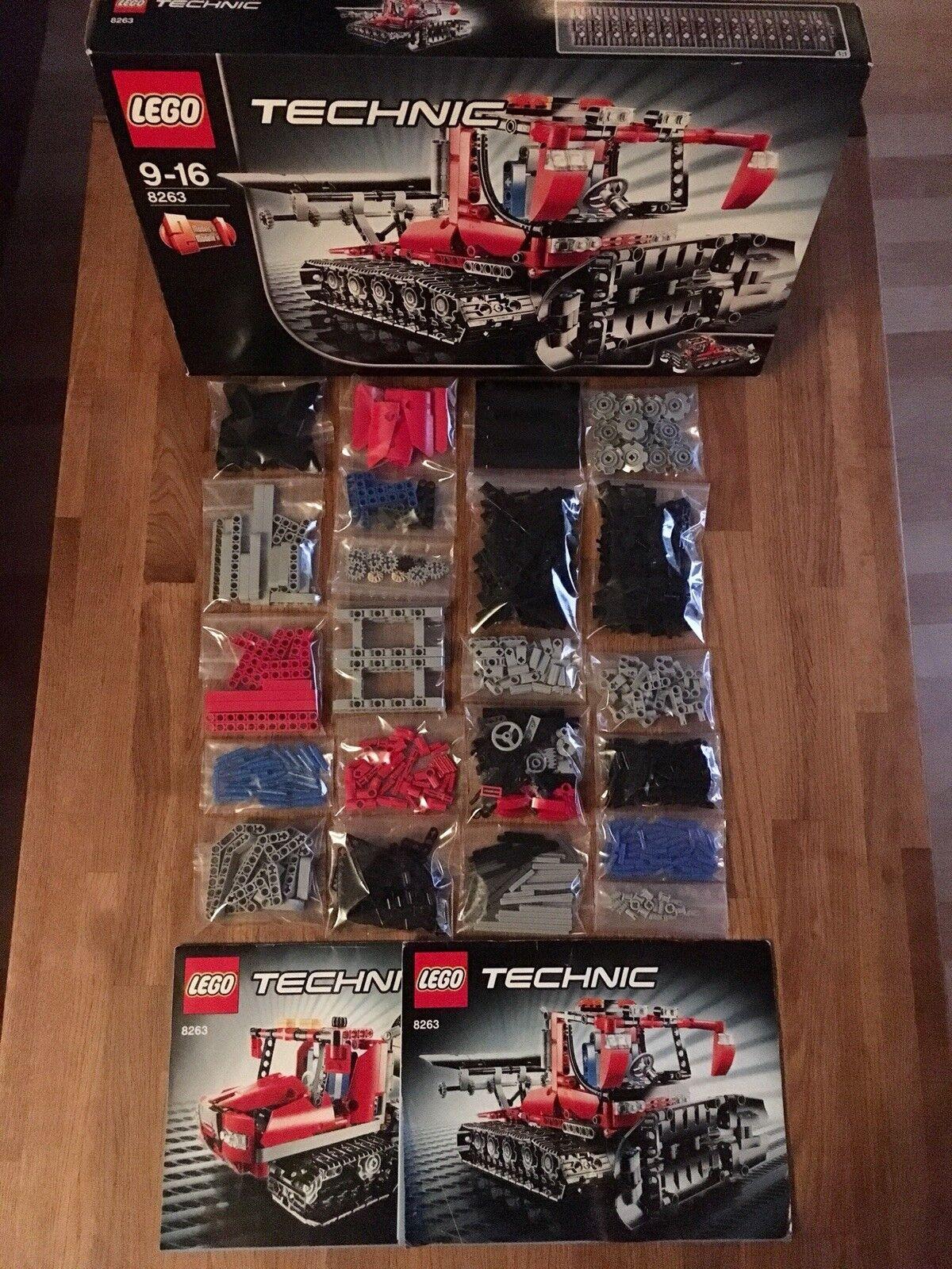 Lego Technic Technik 8263 Pistenraupe. Pistenraupe. Pistenraupe. 100% Komplett 34913b