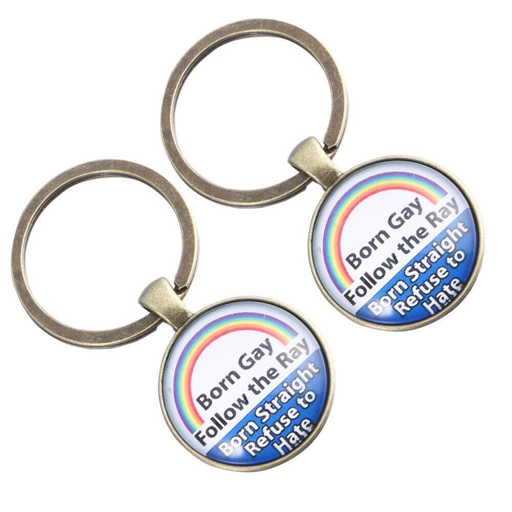 2 PCS Key Chain Ally Alloy Colorful Handbag Hanging Ornament for Decoration