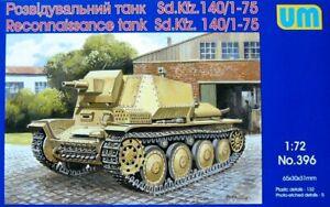 Unimodel-UM-1-72-Model-Kit-396-Marder-III-Sd-140-1-75