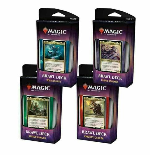Set of 4 Sealed Brawl Decks NEW FLASH SALE Magic MTG Throne of Eldraine