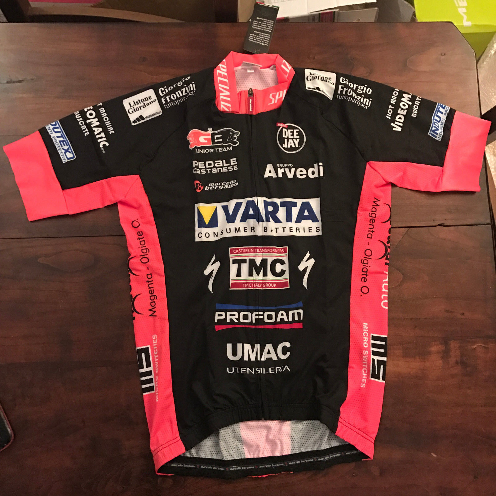 Maglia bici MARCELLO BERGAMO MB  L   XL  XXL  ciclismo bike jersey  online-shop