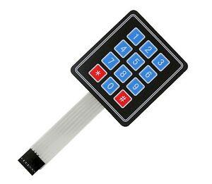 4x3-12-key-Switch-Membrane-Matrix-KeyPad-Self-Adhesive-Arduino-RPI-PIC-AVR