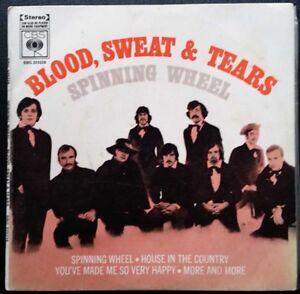 1970s-BLOOD-SWEAT-amp-TEARS-SPINNING-WHEEL-EP-7-034-AUSSIE-CBS-225228-4-TRACKS
