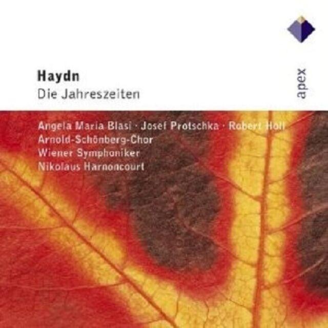 HARNONCOURT/WSY - DIE JAHRESZEITEN 2 CD CHOR ORCHESTER KLASSIK NEU HAYDN