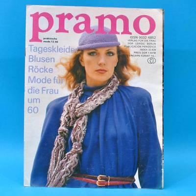Ddr Pramo 12/1980 Praktische Mode Schnittmuster G Puppen Puppenmütter Gestrickt GroßE Auswahl;