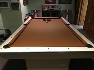 Image Is Loading Brunswick 7 Foot Pool Table