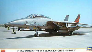 Hasegawa 00660 F-14a Tomcat 'vf-154 Histoire des Chevaliers noirs' 1/72