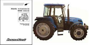 landini atlantis 70 75 80 85 90 100 ghibli tractor service rh ebay com landini tractor manuals landini tractor manuals pdf