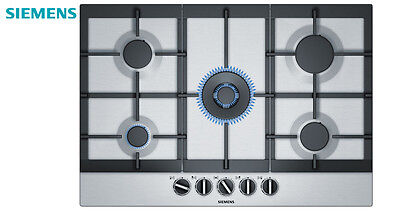 SIEMENS EC7A5RB90  Built-in Stainless Steel Kitchen Gas Hob WOK Burner!!!