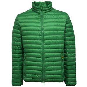 best website a87fe 67de6 Details about 1573Z piumino 100 grammi uomo CIESSE PIUMINI green light down  jacket man