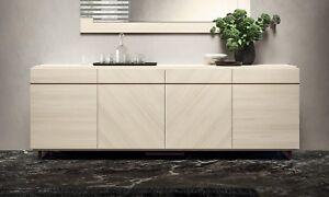... Anrichte Sideboard Wohn Esszimmer Buffet Beige Hochglanz Modern