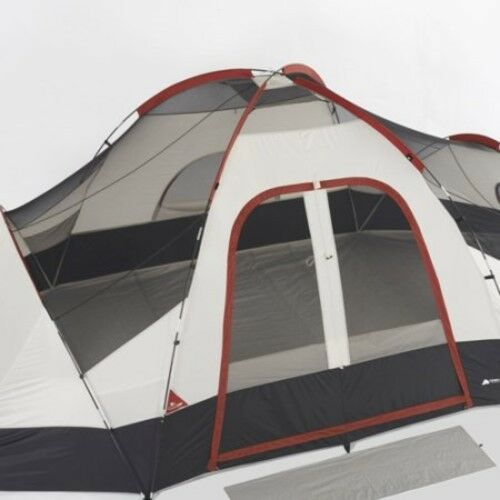 Camping Tent 8 Person 2 Room Outdoor Camp Picnic Travel Family Cabin House Dome