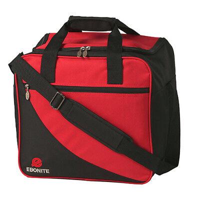 Bag mit Platz für Bowlingschuhe Bowling Ball Tasche Ebonite Basic rot