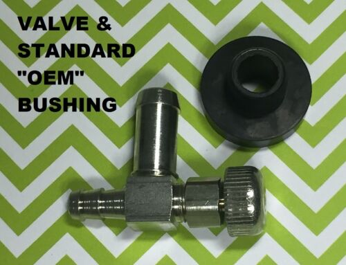 Ships from USA! Fuel Gas Tank Grommet /& Shut off Valve Generators others