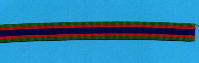 CANADIAN VOLUNTEER MEDAL MINIATURE  RIBBON  6 INCHES (15cm)