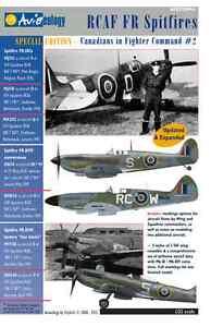 RCAF-Fighter-Recce-Spitfires-CinCF2-Aviaeology-Docs-Only