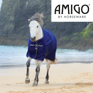 Horseware Amigo Hero ACY Plus Lite Turnout Rug (Atlantic bluee Atlantic bluee Ivor