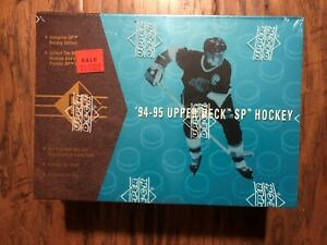1994-95-Upper-Deck-SP-Hockey-Factory-Sealed-Box-32-Packs