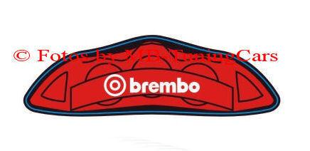 """1:18 Tuning 1x Satz Sport-Bremsbacken /""""brembo/"""" Rot//Gelb//Schwarz//Silber Typ 1-4"""