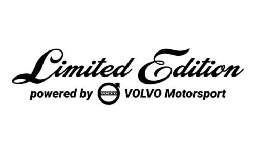Limited Edition volvo Motorsport Pegatina Sticker JDM ws-10-16-10001