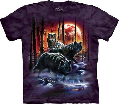 Fire & Ice Lupi T Shirt Per Adulti Unisex The Mountain-mostra Il Titolo Originale Materiali Superiori