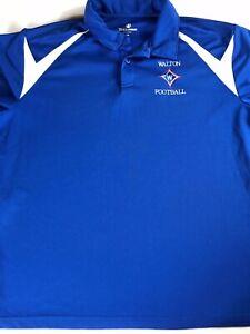 Walton-Raiders-Polo-Shirt-Mens-XL-Dri-Fit-Georgia-High-School-Football-Alumni